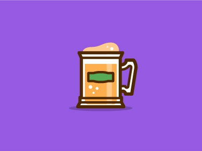 Butterbeer! illustration icon