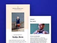 NZZ Bellevue  |  Digital Editorial Design