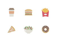 Food & Drink Icons (Free Download)