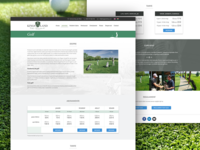 Kings Land golf page