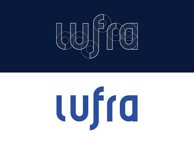 Lufra Logo construction logo lufra