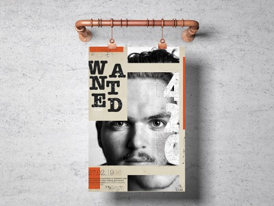 Poster Design graphic design poster design illustration website web icon flat ui typography minimal design app