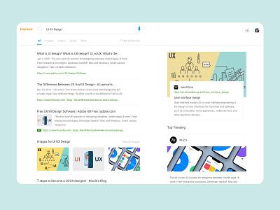Search Page branding illustration website icon flat logo typography minimal design app