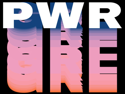 March 8 Girl Power gradient aftereffects animation grlpwr typography respect feminism girl power 8 march girls