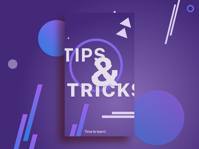 Event geometric poster graphics poster event tricks tips geometry