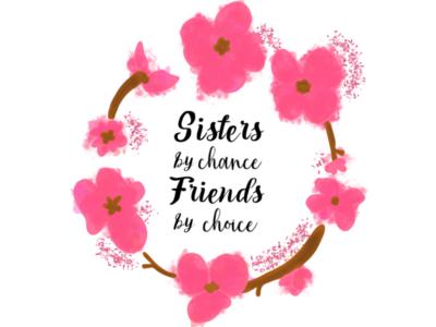 Sisters procreate ipad digitalart