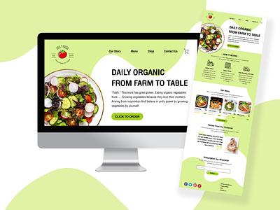 Daily UI Day 3: Landing Page landing page figma dailyuichallenge dailyui