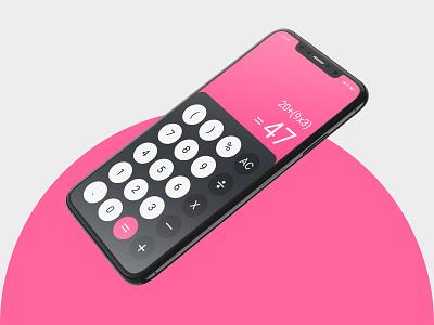 Daily UI Day 4: Calculator calculator figma dailyuichallenge dailyui