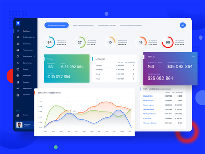 Risk Protector - Finance dashboard app website invoice web charts chart ui ux interface financial finance admin design app clean colorful desktop desktop app dashboard design