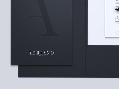 Adriano Branding brand touchdesign envelope logo adriano branding