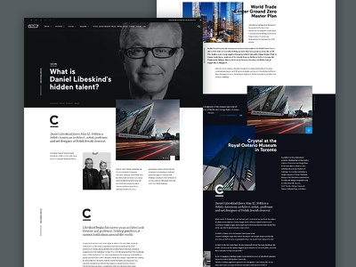Vice Article Subpage minimalistic website jakobsze touchdesign typography ux ui subpage page article