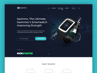 Swimmo Smart Watch - Website