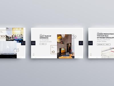 WRS - UI & UX design product landing interaction homepage animation animations minimal webdesign website ux ui design