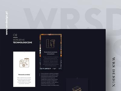 WRSDESIGN - UI&UX - webdesign white dark icons anagrama icon animations typography minimal minimalistic webdesign ux ui