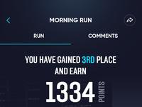 Running after run