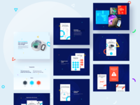 UI / UX - The Bubble - Free Smartphone Charger part IV device onboarding illustration icon clean minimalistic charger phone app colorful application uiux ui password code