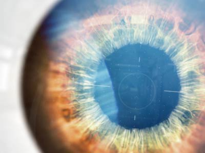 Eye Tracking pupil flare fui ui reflection lens light design after effects styleframe eye
