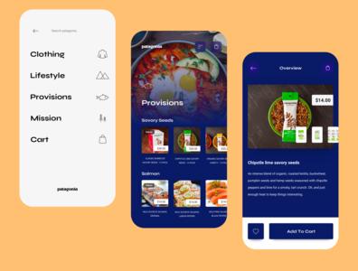 patagonia menu and provisions mobile