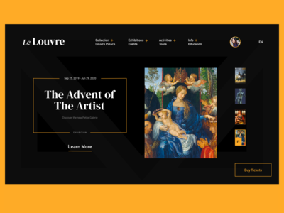 le louvre redesign