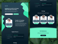 Sagely.design Landing Page