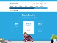 Vistaprint services designer
