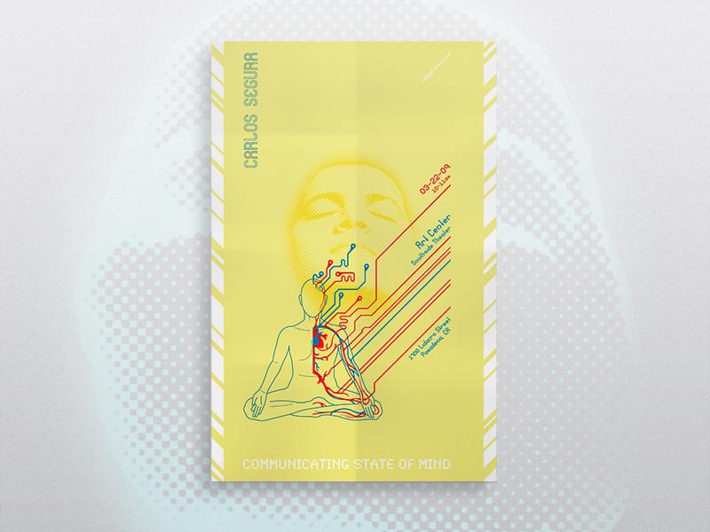 Carlos Segura Poster meditation tech t26 synchro poster segura carlos