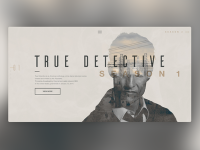 Daily UI #003 - Landing Page web design cinema daily font landing page daily 003