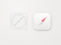 Daily UI #005 - Safari App Icon
