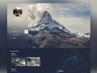 Mountain Guide Web service