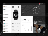 Fitness App Interface