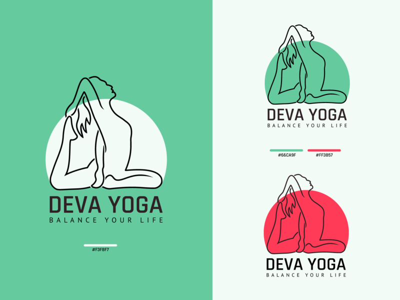 DEVA YOGA yoga logo