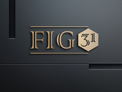 Fig 31 apartment logo mordern logo minimal unique logo logo design logo