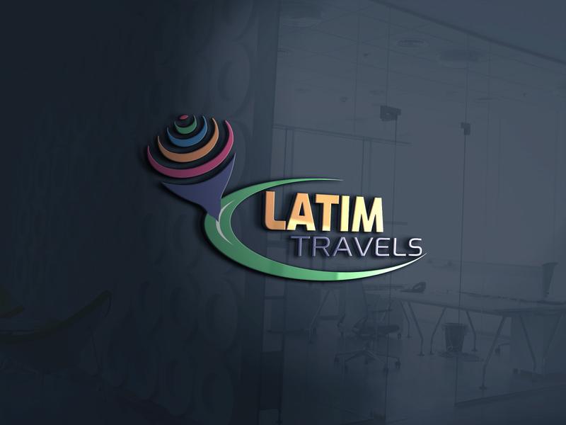 Latim travels logo modern logo unique logo minimalist logo logodesign logo latim travels latim travels