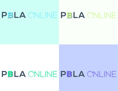 PBLA Logo text logo logo for website digital logo logo design design logo unique logo minimalist logo