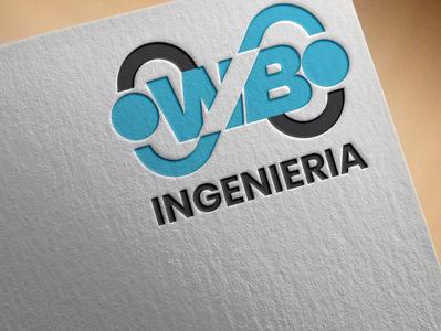 WB logo modern logo digital logo creative logo wb logo logo design design unique logo minimalist logo logo