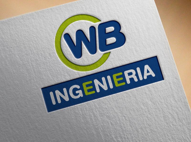 Wb logo brand identity design flat logo modern logo text logo digital logo wb logo logo design unique logo minimalist logo design logo