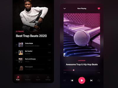 Music Player ios music player player music app app design ui  ux application mobile mobile ui