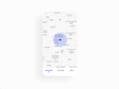 Find Driver Concept product design mobile app product app clean ux interface ui