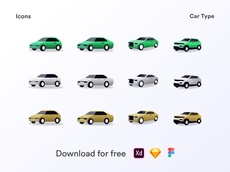 Car icon illustrartion