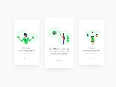 Payment App pay design vishvector vector screen ux ui mobile illustration