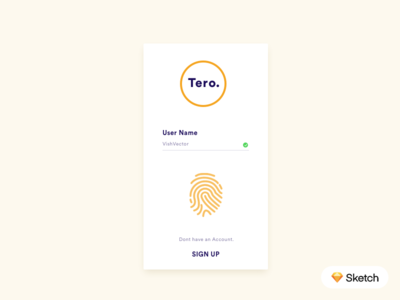 Sign In Layout (Free Download) free app download free ios app interface design ui