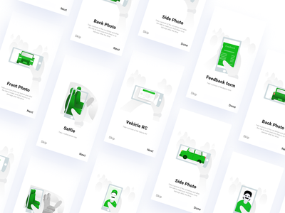 Illustration for DriveU  Driver app product product design driver app green app car mobile app driver driveu ux illustration