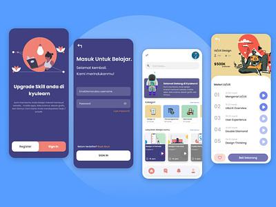 Kyulearn UI Design mobile ux ui courses