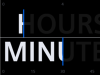hours / minutes