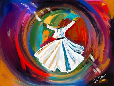 Sufi whirl 1