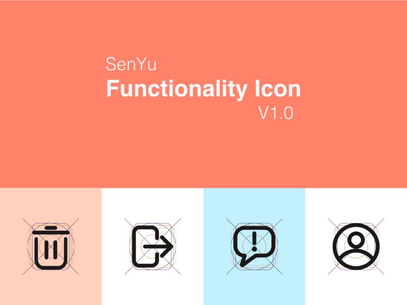 SenYu Icon design 项目 合作 icon ui