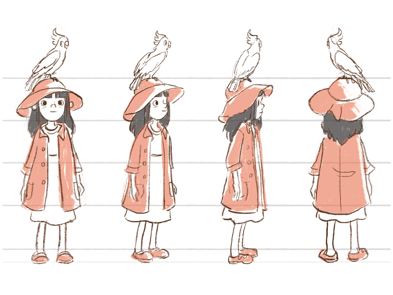 Character Design Mabel By Alice Chu On Dribbble