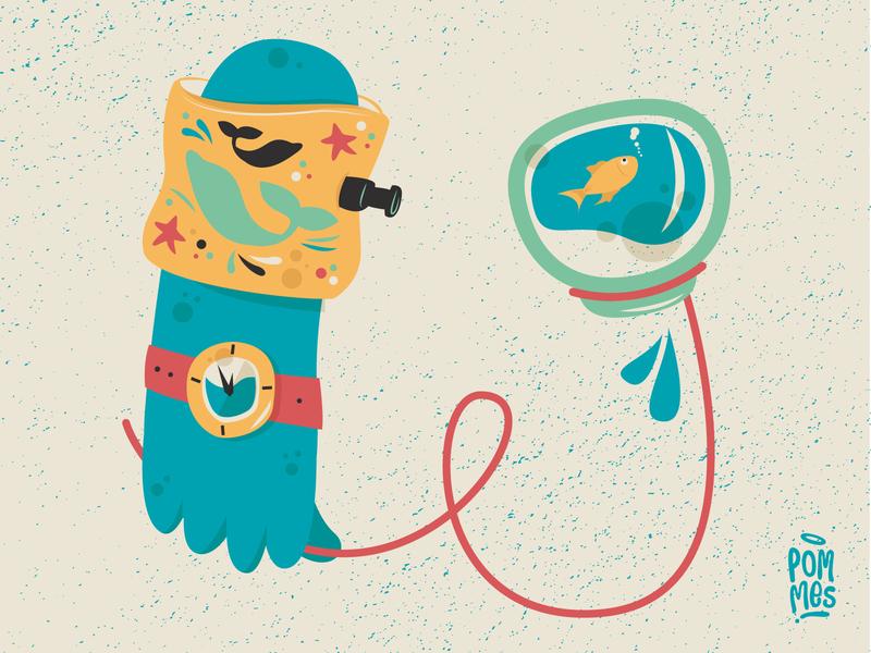 Take a bath & walk your pet advisory goforawalk vector typography pommes playlist music swim illustration iampommes graphic germany bath pet design bobbydarin splishsplash 36daysoftype07 36daysoftype