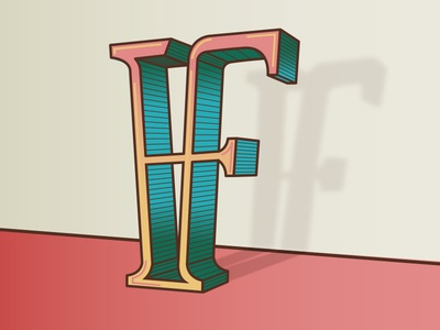 F for 36 days of type