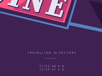 Travelling in vectors